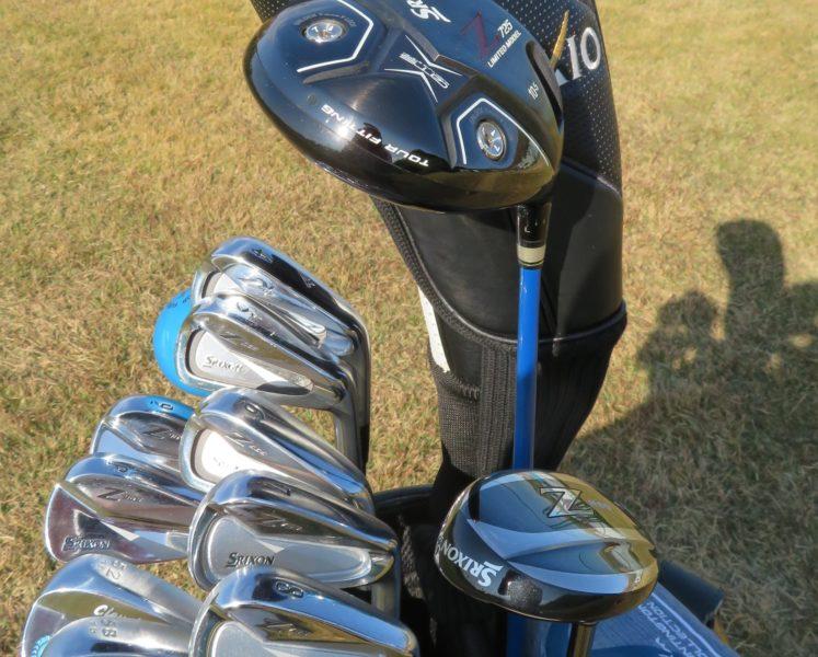 ゴルフクラブセット 写真